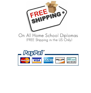 Free Diploma Shipping